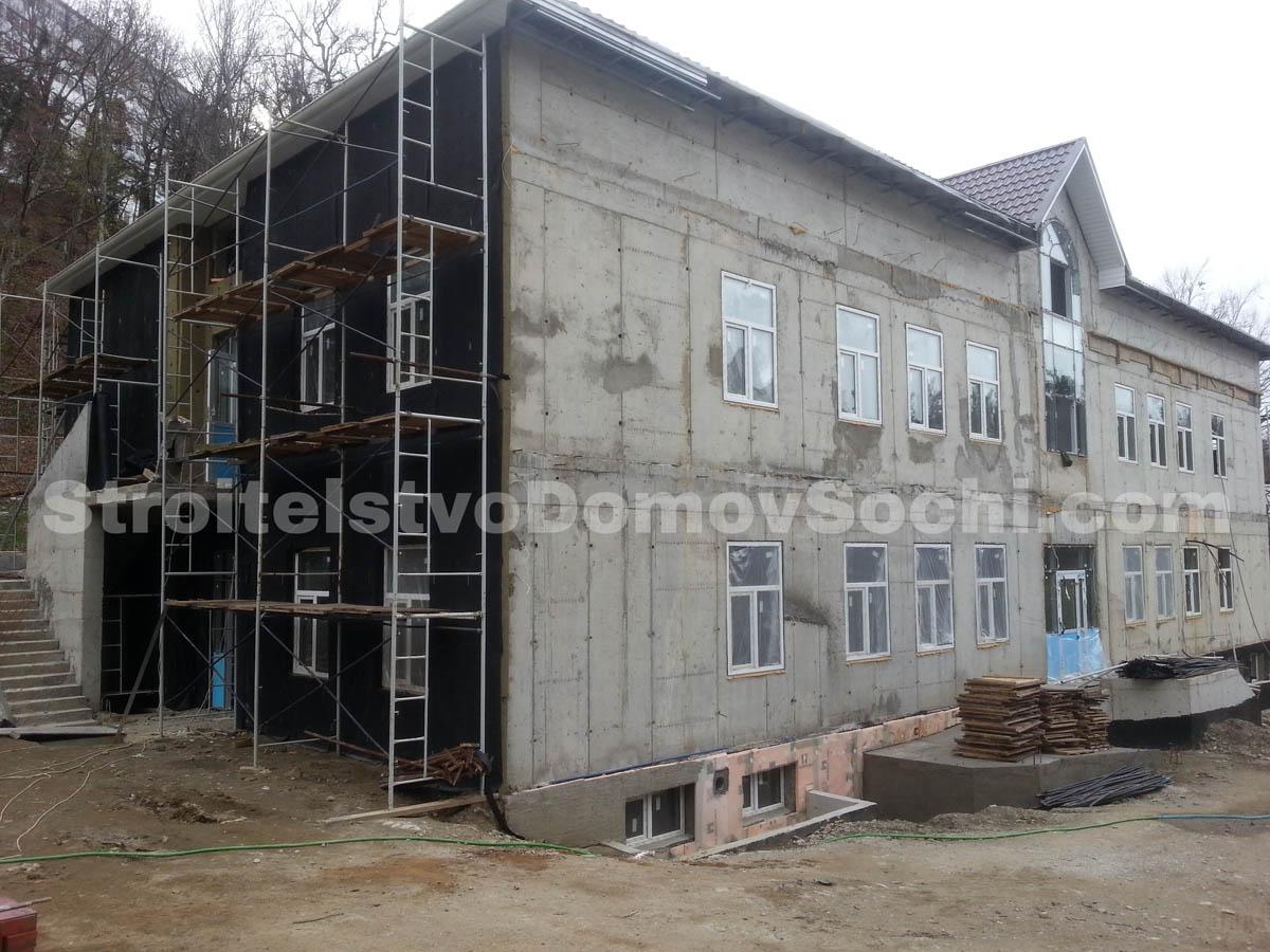 Теплоизоляция фасада здания