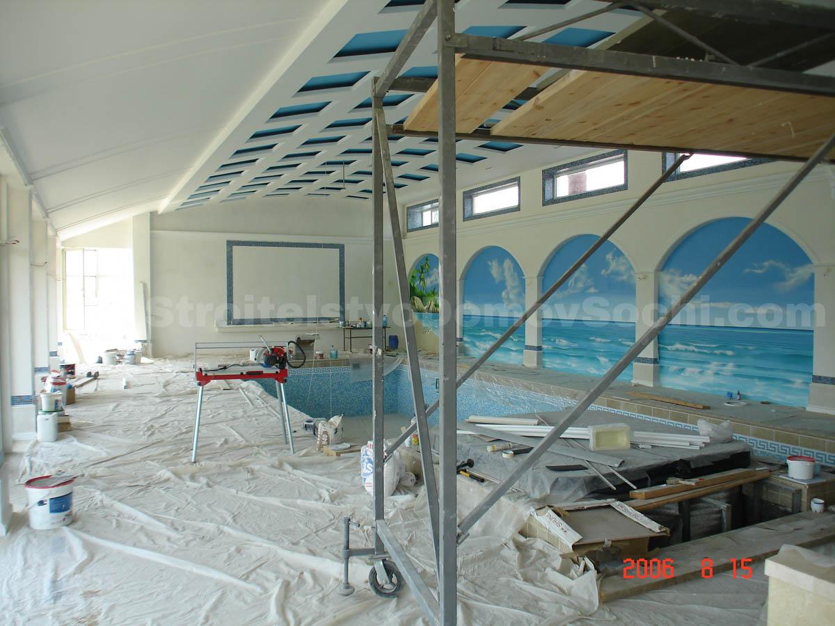 Шпаклёвка потолка